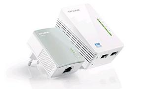 POWERLINE TP-LINK POWERLINE TP-LINK TL-WPA4220KIT WIRELESS 300Mbps AV500