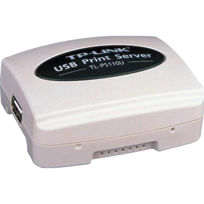 PRINT SERVER TP-LINK 1 PORTA USB 2.0 + 1 PORTA ETHERNET, TL-PS110U