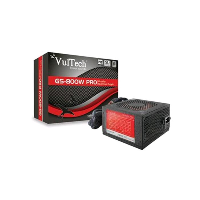 Alimentatore Vultech Real Power GS-800W Pro Rev. 2.1 800W Retail Semi Modulare 80+ Gold