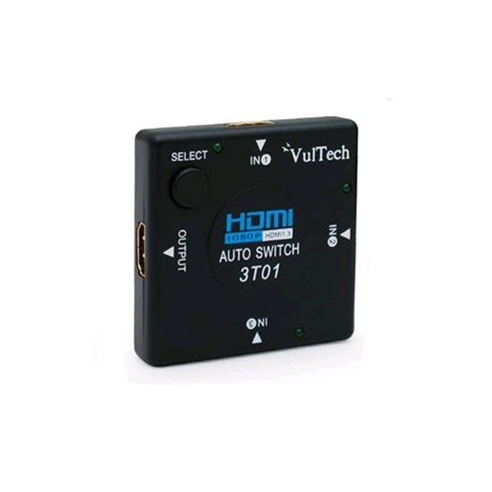 Auto Switch 3 Porte HDMI Vultech SW-01