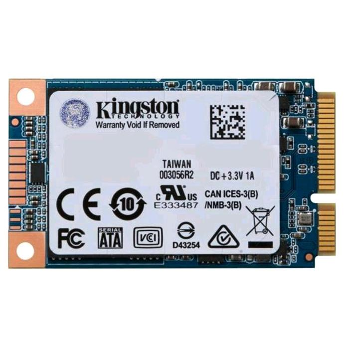 HARD DISK SOLID DISK MSATA KINGSTON UV500 240GB Scrittura 320MB/s Lettura 520MB/s,SUV500MS/240G