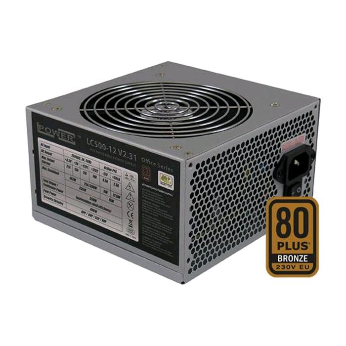 ALIMENTATORE 500W LC-POWER Serie Office LC500H-12 V2.31 VENTOLA 12 CM